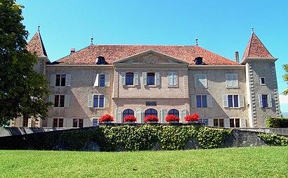Comment aller à Chateau de Dardagny en transport en commun - A propos de cet endroit