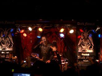 Dark Funeral - Dark Funeral performing live at BB Kings, New York City, on January 10, 2007