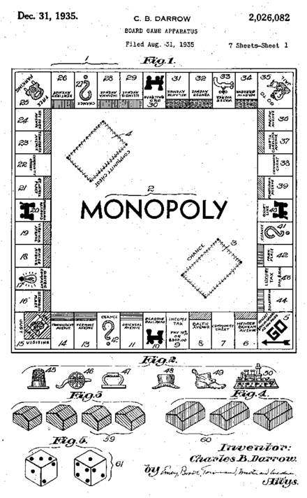 Monopoly Original Classic REPLACEMENT GAME PARTS 12 Hotels 36 Houses Plastic