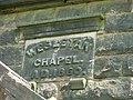 Date stone of Biddulph Park Chapel - geograph.org.uk - 168910.jpg