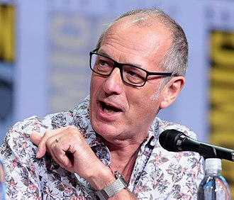 Dave Gibbons - Gibbons at the 2017 San Diego Comic-Con International