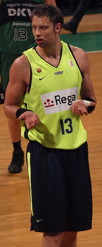 David Andersen - Andersen during his tenure with FC Barcelona