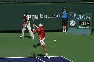 David Ferrer - Ferrer at the 2008 Pacific Life Open