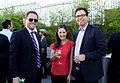 David Gelles (FT), Emily Steel (FT) and Richard Siklos (Time Warner) (7455716812).jpg