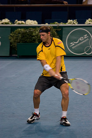 Challenger ATP de Salinas Diario Expreso - Argentine David Nalbandian, like Sá and Brzezicki, won both the singles and the doubles titles (partnering Peruvian Luis Horna), in 2001