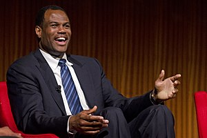 David Robinson (basketball) - Robinson at the LBJ Presidential Library in 2014