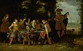 David Vinckboons - Banquet in a Park (The Prodigal Son among the Harlots^) - KMSsp175 - Statens Museum for Kunst.jpg