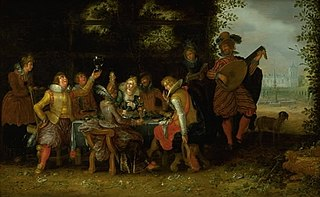 Banquet in a Park (The Prodigal Son among the Harlots?)