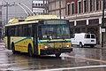 Dayton 1998 ETI 14TrE2 trolleybus 9834 on Jefferson St downtown, SB on route 7 (2016).jpg