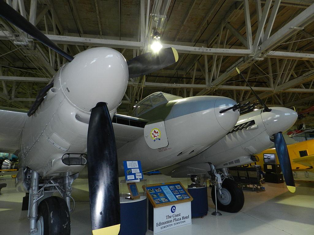 De Havilland Mosquito B.35 at the Alberta Aviation Museum 02