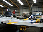 De Havilland Vampire T.11 WZ518, NELSAM, 27 June 2015 (2).JPG