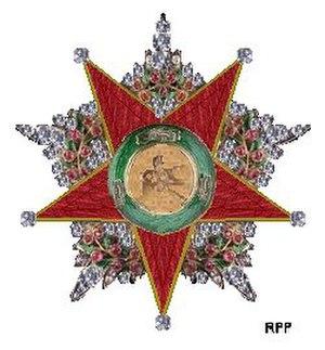 Order of Charity (Ottoman Empire) - Image: De Orde van Liefdadigheid Osmaanse Rijk