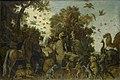 De dichter op het feest der dieren gekroond door twee apen Rijksmuseum SK-A-366.jpeg
