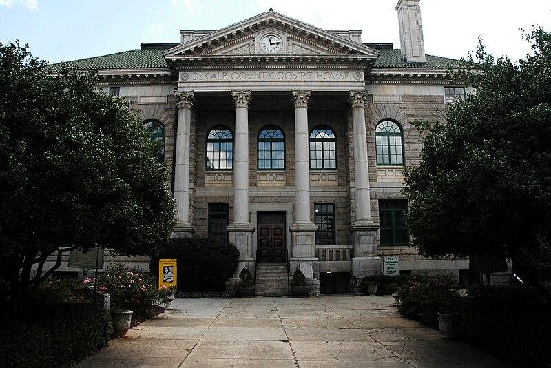 Dekalb County Courthouse Building Decatur Georgia