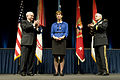 Defense.gov News Photo 110411-A-VO565-014 - Secretary of Defense Robert M. Gates left and Chief of Staff of the Army Gen. George Casey Jr. lead applause to recognize the service of Sheila.jpg