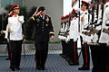 Defense.gov News Photo 120601-D-VO565-004 - Chairman of the Joint Chiefs of Staff Gen. Martin E. Dempsey salutes the Singapore Honor Guard as he inspects the troops during welcoming ceremonies.jpg