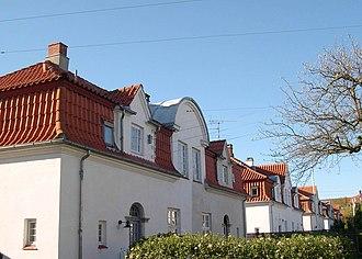 White Houses, Frederiksberg - Image: Den Hvide By, Frederiksberg