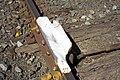 Derail device on a siding off the Yanco–Griffith railway line near Leeton Railway Station (close-up).jpg