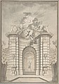 Design for Festival Architecture for an Entry into Paris for the King of Sweden, Fredrerick I of Hesse MET DP808398.jpg