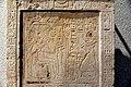 Detail, Stela of Seba, scribe of the treasury of god Ptah. c. 1250 BCE. From Memphis, Egypt. Neues Museum, Berlin.jpg