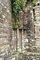 Detail in southeastern corner of the Chapter House at Tintern Abbey.jpg