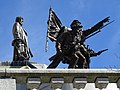 Detail of Bronze Sculptures atop Lincoln's Tomb - Oak Ridge Cemetery - Springfield - Illinois - USA (32798189881).jpg