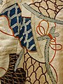 Detail of Satin Kosode Garment - 17th Century - Tokyo National Museum - Tokyo - Japan - 03 (40932272073).jpg