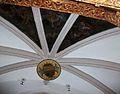 Detall de la volta sobre l'altar major del convent de santa Clara de Gandia.JPG