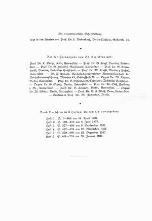 Deutsche Mathematik