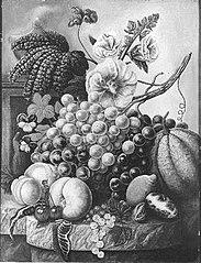 Bloemen en vruchten