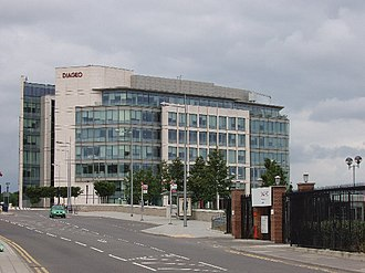 Diageo - Diageo world headquarters in Park Royal, London