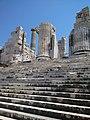 Didyma, Turkey, Temple of Apollon, stairs.jpg