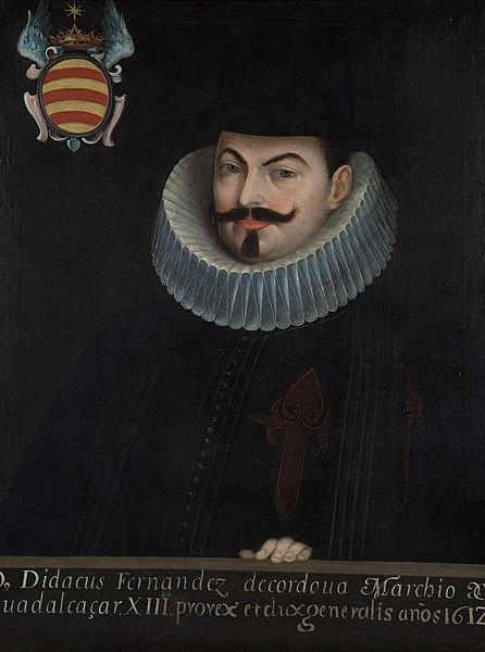Retrato de Diego Fernández de Córdoba.