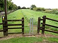 Different gate onto Trans Pennine Trail. - geograph.org.uk - 537259.jpg
