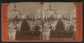 Dining room, Fort Wm. Henry Hotel, by Stoddard, Seneca Ray, 1844-1917 , 1844-1917.png