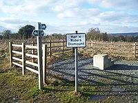 Dismounting Steps at bridleway junction - geograph.org.uk - 1146008.jpg
