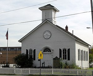 National Register of Historic Places listings in Macomb County, Michigan - Image: District 2Schoolhouse