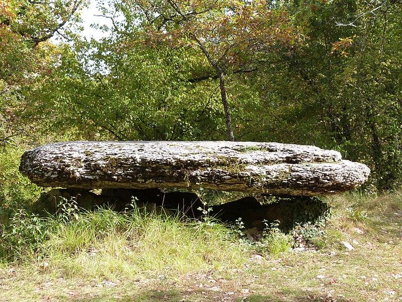 Dolmen de la Peyro Levado