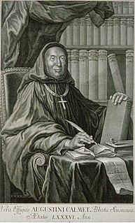Antoine Augustin Calmet French historian