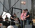 Donauinselfest 20100626 131 Renate Brauner presenting Masimbambane Marimba Band.jpg