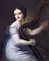 Dorette Spohr, née Scheidler (1787-1834), by Carl Gottlob Schmeidler (1772-1838).jpg