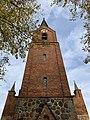 Dorfkirche Petkus Westturm Westansicht.jpg