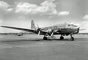 Colonial Airlines - Douglas DC-4 of Colonial Airlines, used on routes to Canada and Bermuda