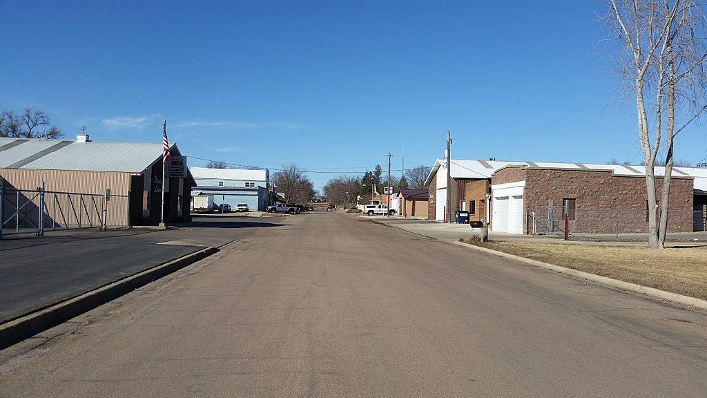 Main Street in Brandon, SD