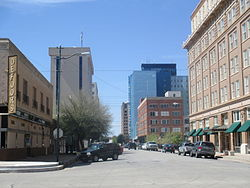 Downtown block in Wichita Falls, TX IMG 6976.JPG