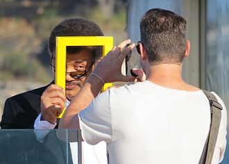 Neil deGrasse Tyson - Tyson promoting the Cosmos TV series in Australia for National Geographic, 2014