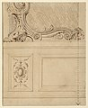 Drawing, Design for the Lower Portion of a Wall Panel, 1714 (CH 18170627).jpg