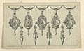 Drawing, Designs for five pedants and four earrings, 1869 (CH 18548069).jpg
