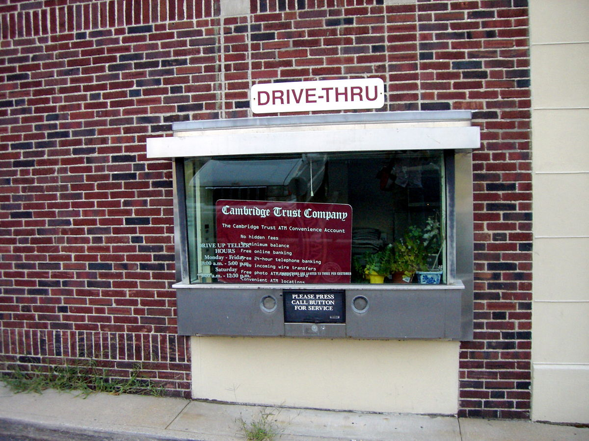 Bank Drive Thru Teller Window