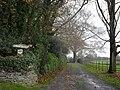 Drive to Stoneyhurst - geograph.org.uk - 1613934.jpg